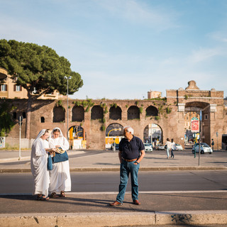 Late afternoon in Rome