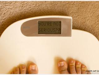לא על המשקל לבדו יעמוד האדם!