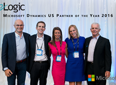 eLogic Takes Top Partner Award for the U.S. at Microsoft WPC 2016