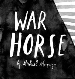 War Horse Cover Typeface