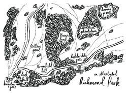 'Kingston Gate, Richmond Park'
