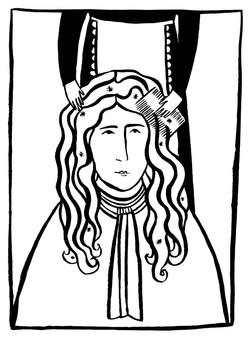 Wig Illustration