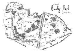 'Bushy Park Map'