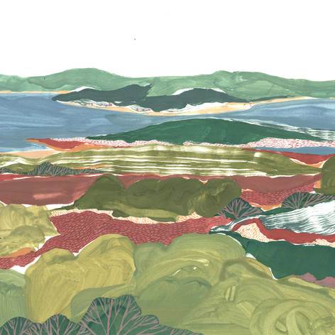 'Overlooking Brownsea Island'