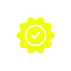 smoke free checkmark icon yellow.png