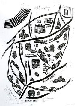 Map of Clapham