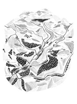 Easedale Map