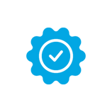 smoke free checkmark icon blue.png