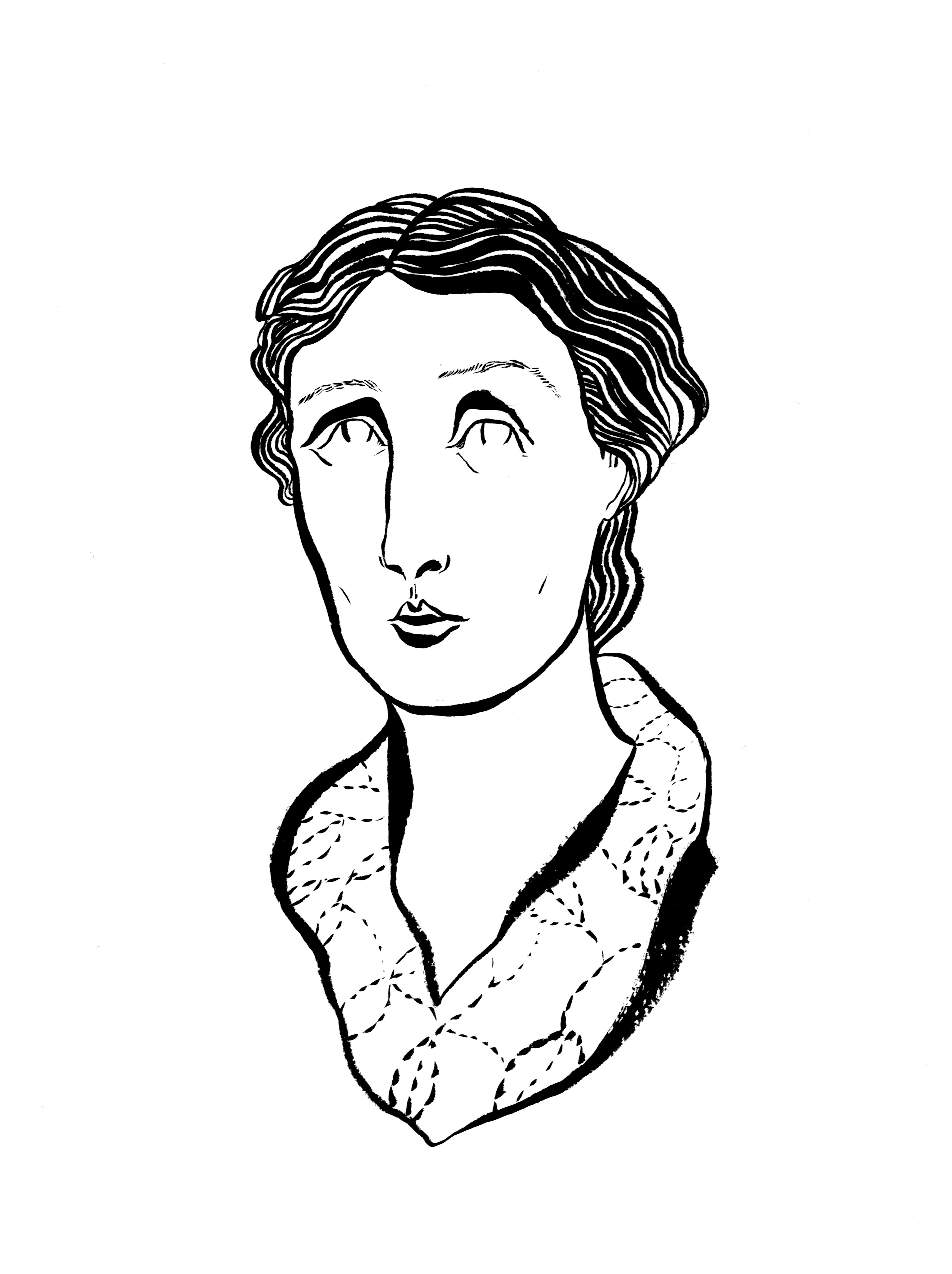 'Virginia Woolf Portrait'