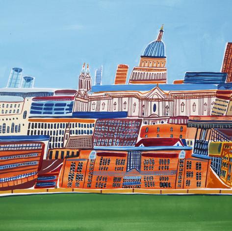 'Across the Thames'