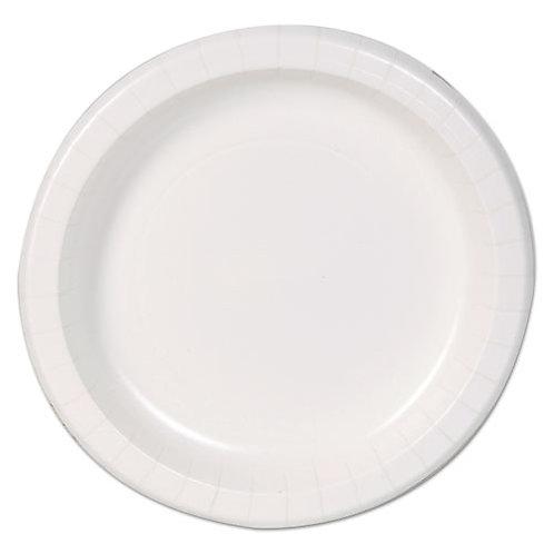 Basic Paper Dinnerware, Plates, White