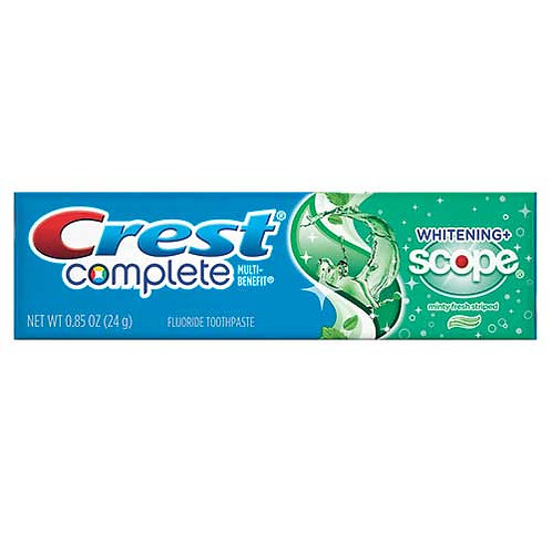 Toothpaste, Personal Size, 0.85 oz.
