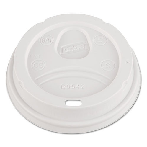 Dome Drink-Thru Lids, Fits 12 oz.