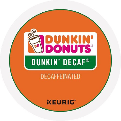 Dunkin Donuts Decaf K-Cup Pods