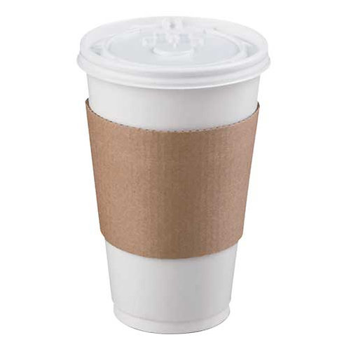 Pactiv Hot Cup Sleeve, 1000/CT