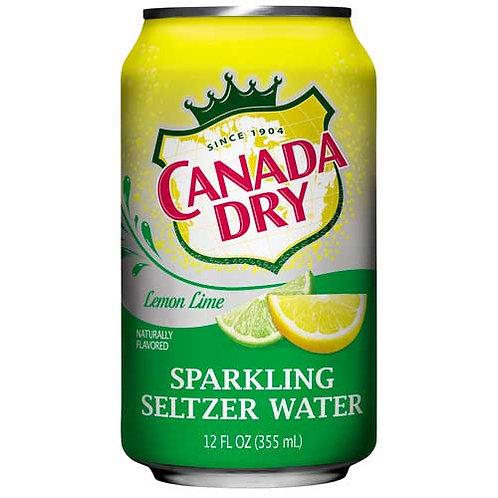 Seltzer Water, Lemon Lime, 12 oz. Can