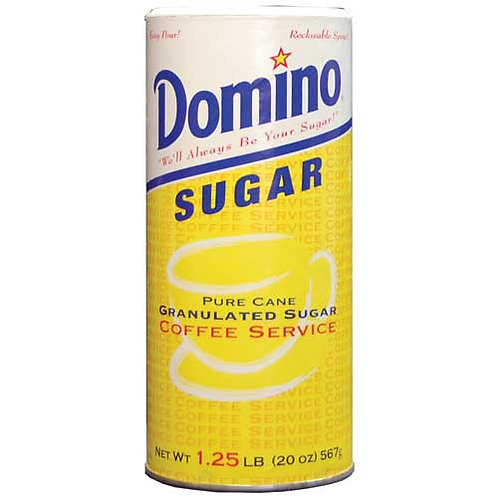 Pure Cane Sugar, 20 oz. Canister