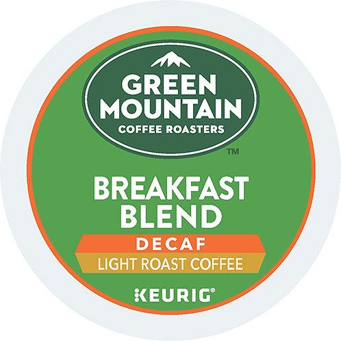 Breakfast Blend Decaf Coffee K-Cup