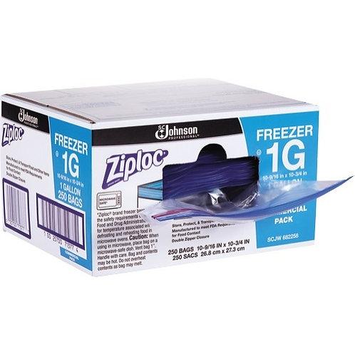 Double-Zipper Freezer Bags, 1gal