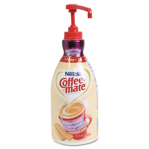 Liquid Coffee Creamer, Sweetened