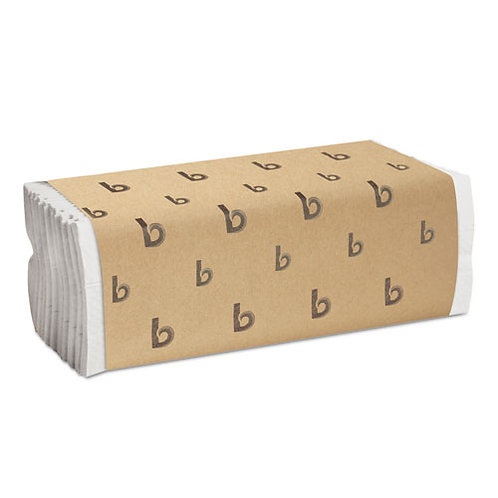 C-Fold Paper Towels, Bleached White