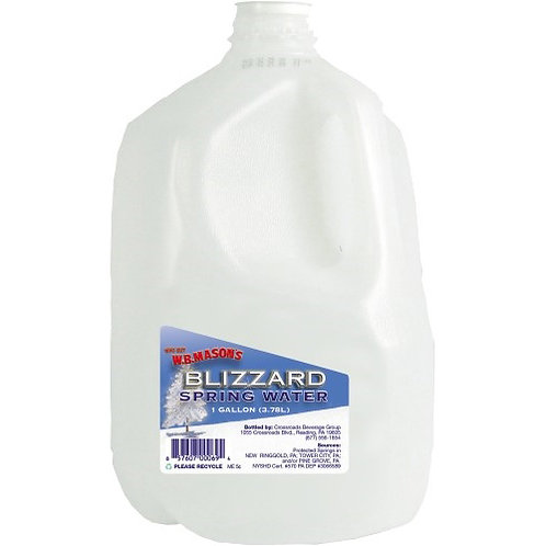 Spring Water, 1 Gallon, 3/PK