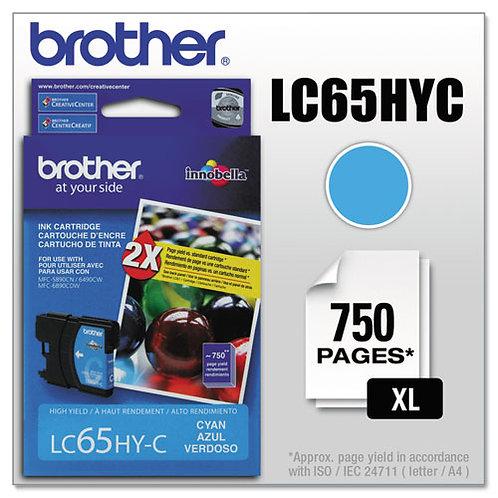 Brother LC65HYC Innobella Ink, Cyan