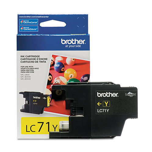 Brother LC71Y Innobella Ink, Yellow