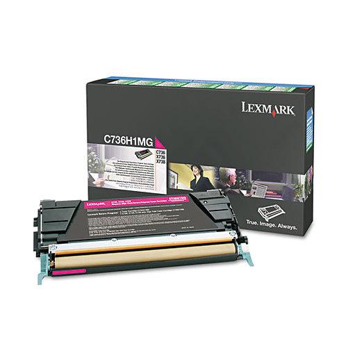 Lexmark C736H1MG High-Yield Toner