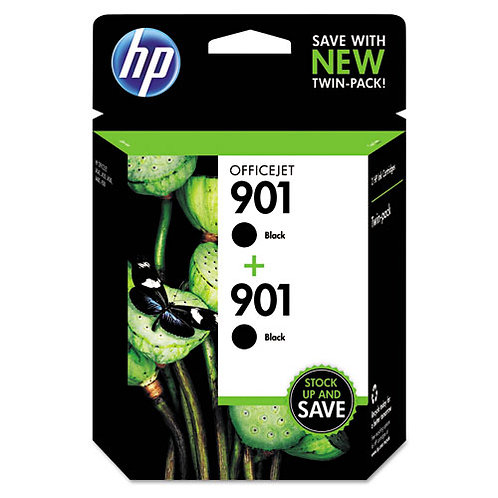 HP 901, (CZ075FN) Ink Cartridges