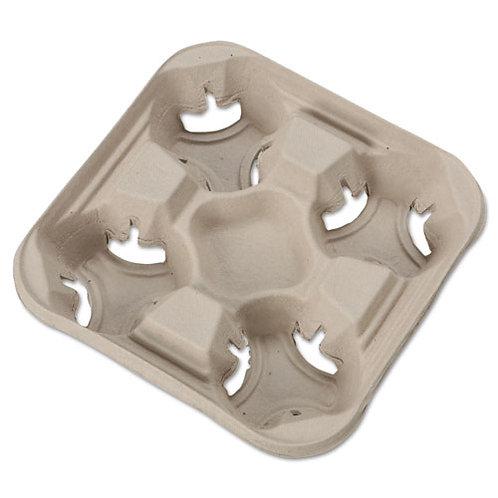 Molded Fiber Cup Trays