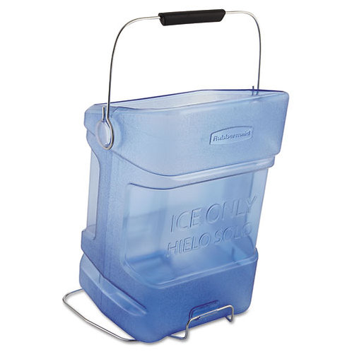 Commercial Ice Tote, 5.5gal, Blue