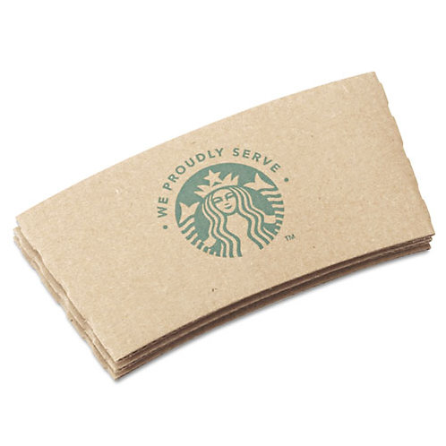 Cup Sleeves, For Hot Cups, Kraft