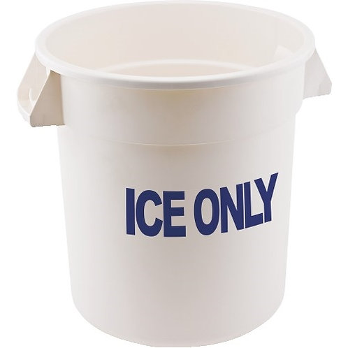 """""""Ice Only"""" Storage Container, 20 Gallon"""