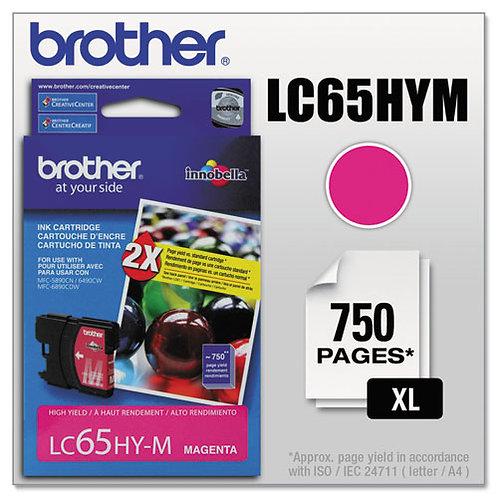 Brother LC65HYM Innobella Ink, Magenta