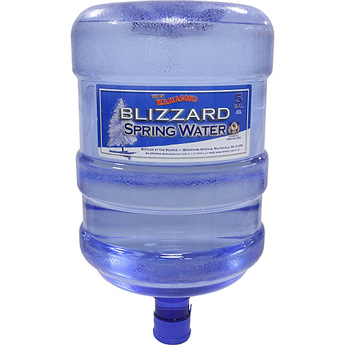 Natural Spring Water, 5-Gallon