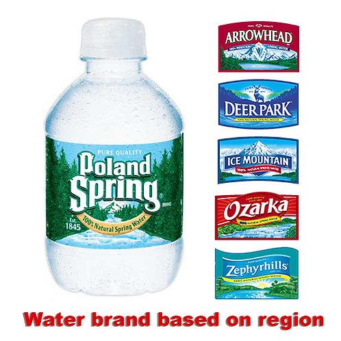 Natural Spring Water, 8 oz., 48/CS