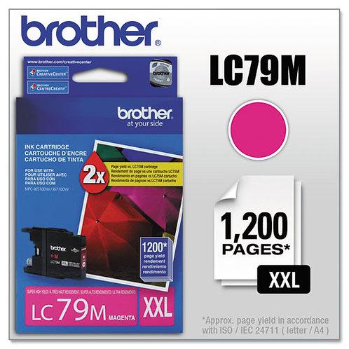 Brother LC79M Innobella Ink, Magenta