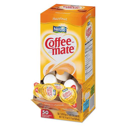 Hazelnut Creamer, 0.375 oz., 50/Box