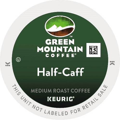 Half-Caff Coffee K-Cup Pods