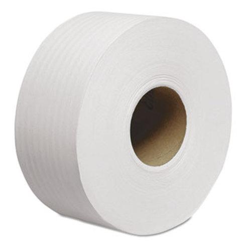 """Scott Tradition JRT Jumbo Roll Bathroom Tissue, 2-Ply, 8 9/10"""" dia, 1000ft, 12"""