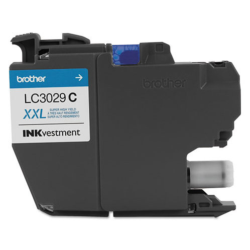 Brother LC3029C INKvestment Ink, Cyan