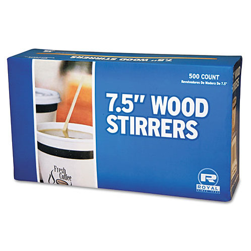 Royal Paper Wood Coffee Stirrers