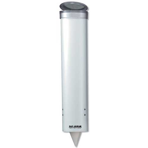 Pull-Type Cup Dispenser, White