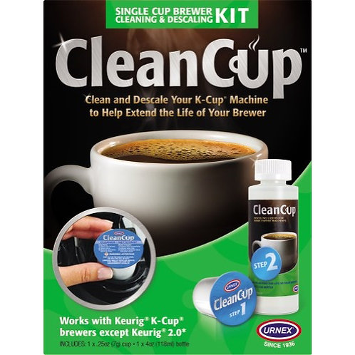 Cup Brewer Cleaning & Descaling Kit