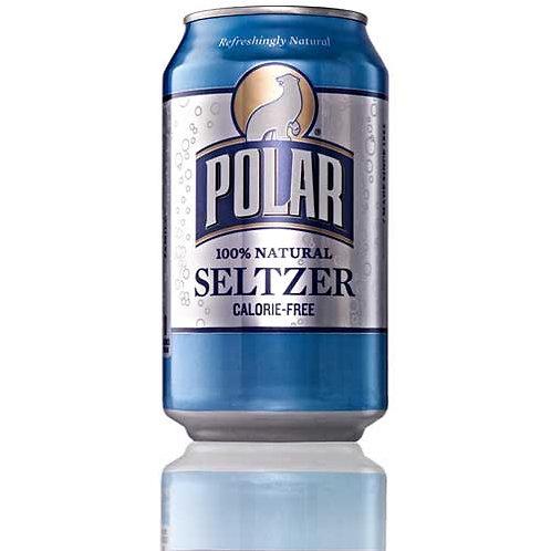 Polar Plain Seltzer, 12 oz.