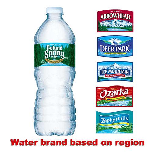 Natural Spring Water, 16.9 oz, 24/CT