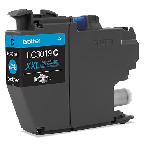 Brother LC3019C INKvestment Ink, Cyan