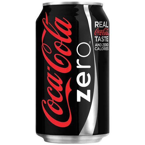 Coca-Cola Zero, 12 oz. Can, 12/PK