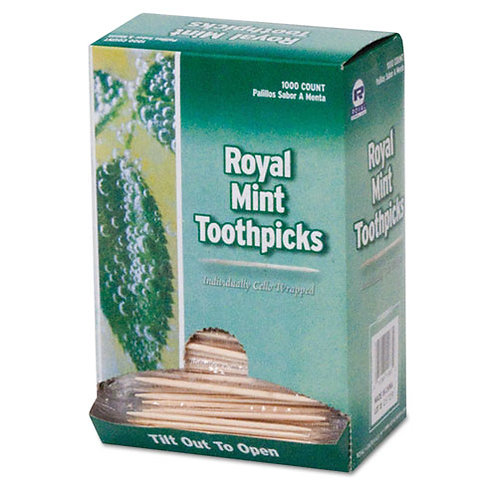 Royal Mint Cello-Wrapped Toothpicks